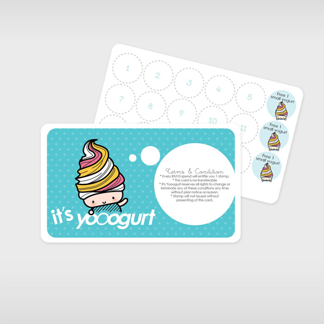 Its Yooogurt Reward Card